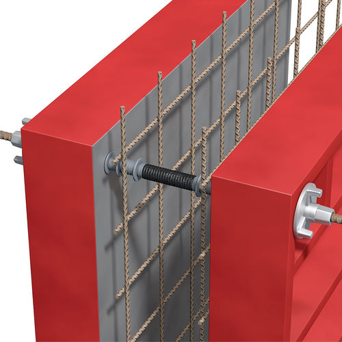 plastic fastening system / for walls / with point fittings