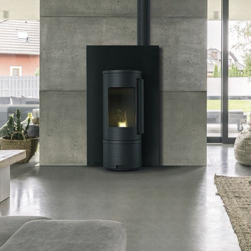 pellet heating stove
