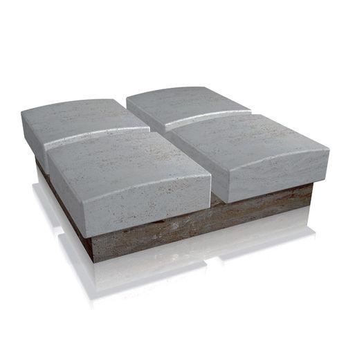 public bench / contemporary / stone