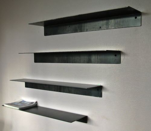Wall Mounted Shelf Industrial Design Steel Sheet Metal