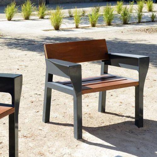wooden urban armchair