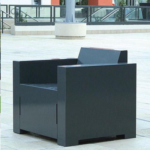 steel urban armchair