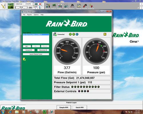 Management Software Pump Manager 2 Rain Bird Monitoring