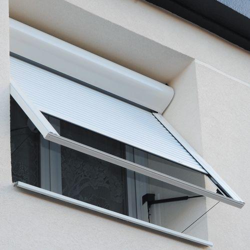roller shutter / projection / aluminum / window