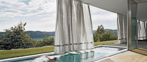plain curtain / stainless steel