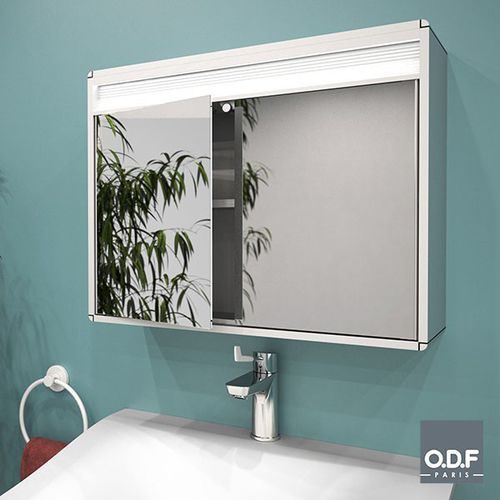 Contemporary Bathroom Cabinet 8520 11, Large Glass Bathroom Cabinets