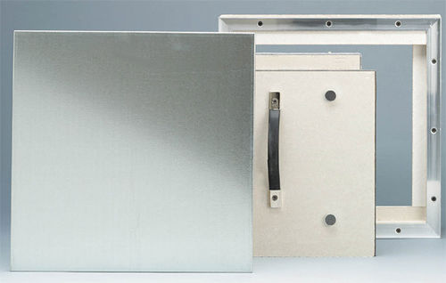 wall access hatch / for suspended ceilings / square / metal