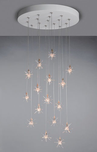 contemporary chandelier