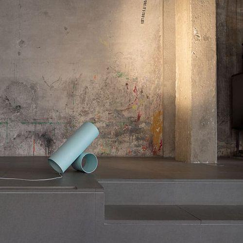 floor lamp / contemporary / cast aluminum / extruded aluminum