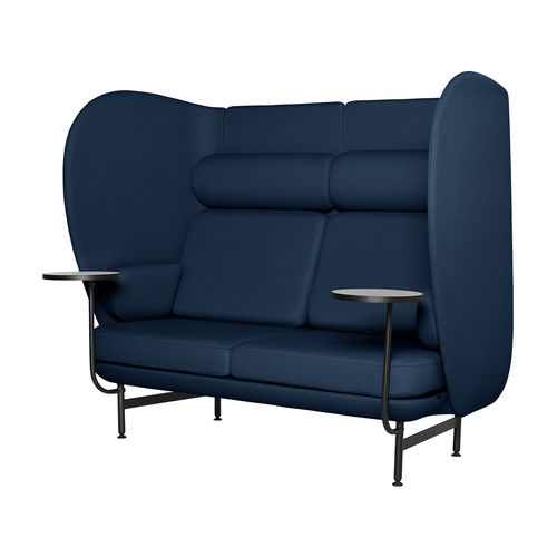 contemporary sofa / fabric / powder-coated steel / by Jaime Hayon