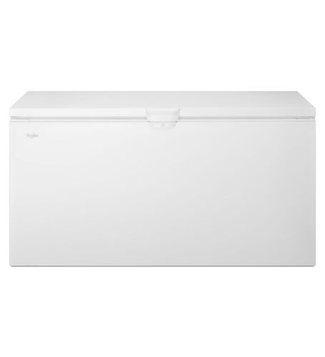 chest freezer / white