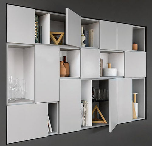 Wall Mounted Storage System Smart, Storage Wall System