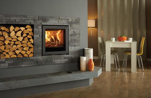 multi-fuel fireplace