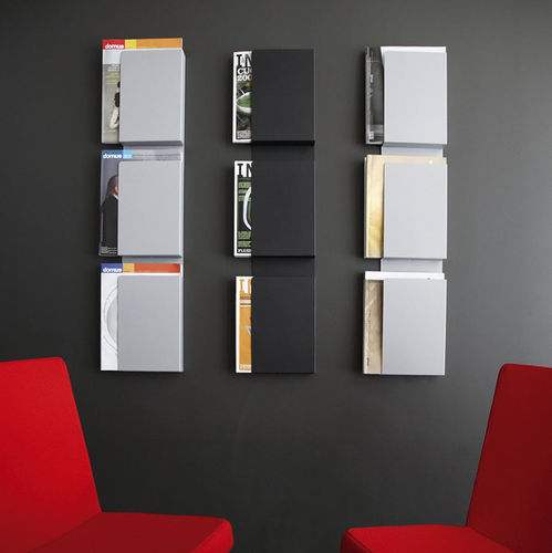 wall-mounted display rack