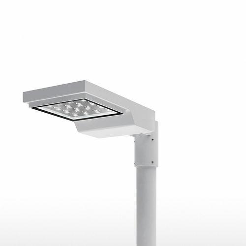 urban lamppost / contemporary / aluminum / galvanized iron