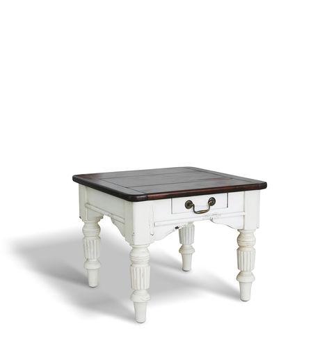 Cottage Style Coffee Table Augustine Ecomatrix Srl Wooden Pine Base Rectangular