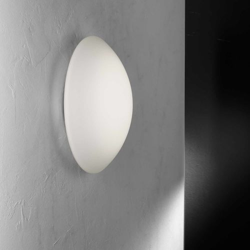 contemporary wall light / blown glass / polycarbonate / LED
