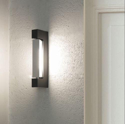 contemporary wall light / glass / aluminum / LED