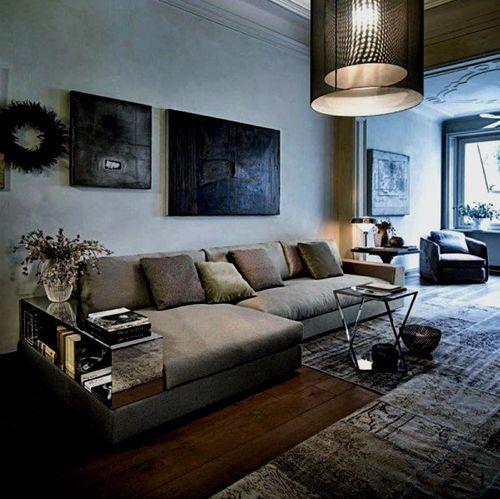 modular sofa / contemporary / cotton / multiplace
