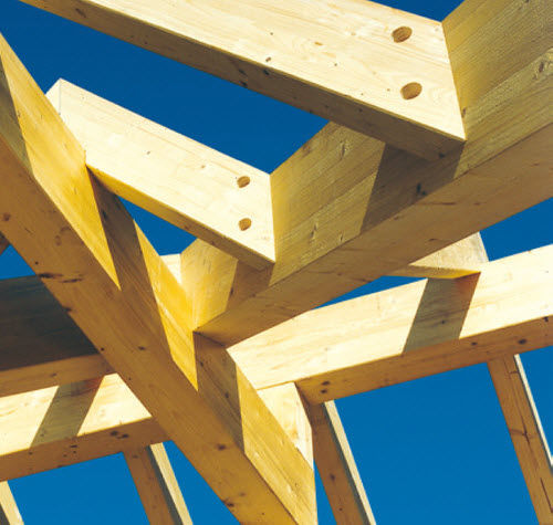 solid wooden truss / for carports / commercial