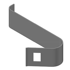 aluminum fastening system / for glass facades / exterior