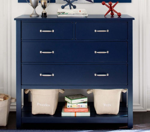 Contemporary Chest Of Drawers Camp Pottery Barn Kids Boy S Child S Blue