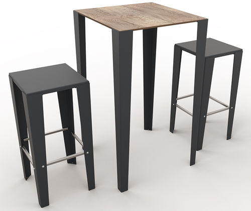 contemporary bistro table - GUYON