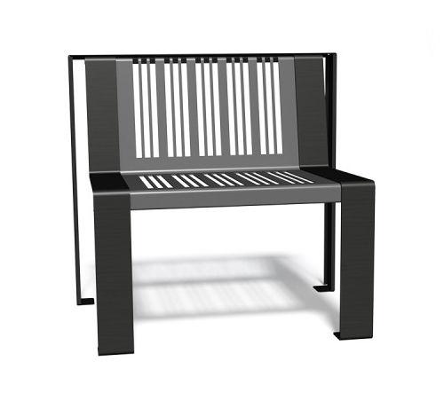 metal urban armchair