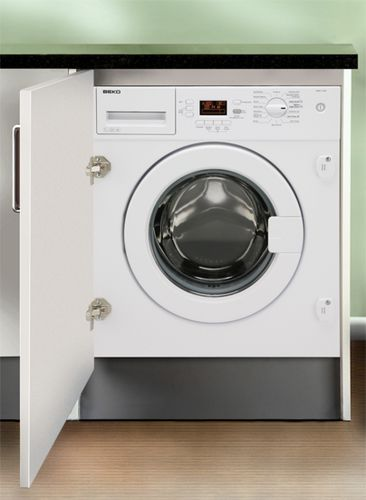 front-loading washing machine / built-in