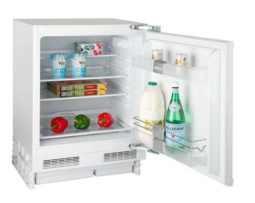 undercounter refrigerator / white / built-in