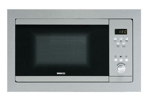 electric oven / microwave / with grill / built-in