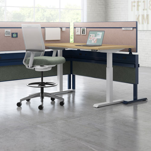 floor-mounted office divider
