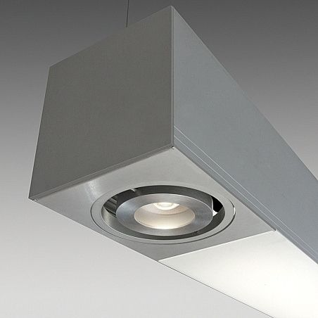 hanging light fixture / LED / linear / extruded aluminum