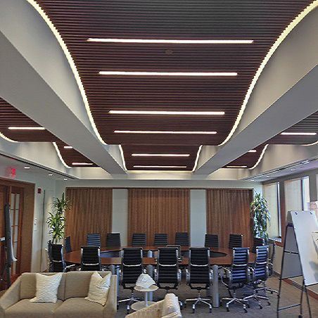 surface-mounted light fixture / recessed ceiling / LED / linear
