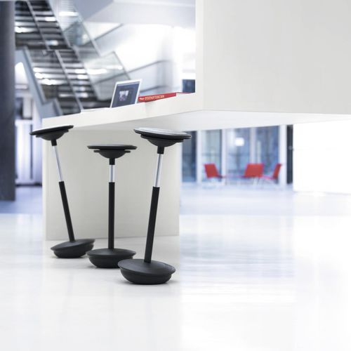 contemporary bar stool - Wilkhahn