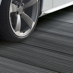WPC deck board / durable / PEFC-certified / 100% recyclable