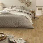 vinyl flooring / residential / roll / smooth