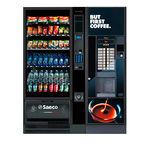 free-standing vending machine