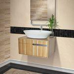 wall-mounted washbasin cabinet