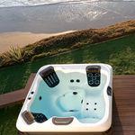 above-ground hot tub