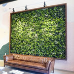 synthetic green wall