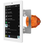 multimedia equipment control keypad / wall-mounted / with touchscreen
