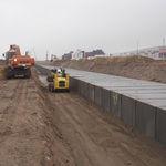 reinforced concrete prefabricated framework