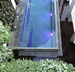 marble swimming pool coping / natural stone