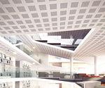 high-resistance gypsum plasterboard / reinforced / acoustic / rectangular