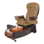 pedicure spa chair with headrest