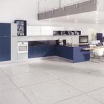 wood veneer commercial kitchen