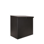 wall-mounted parcel box