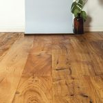 solid parquet floor
