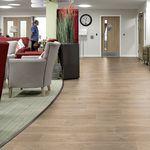 PUR flooring / interior / high-resistance / tertiary